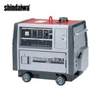 直送品 新ダイワ工業 ガソリンエンジン発電機 50Hz(超低雑音) EG33M-A