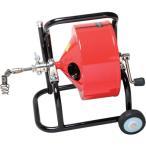 (直送品)ヤスダ 排水管掃除機F4型キャスター型 清掃能力12m F4-12-12