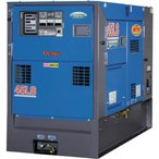 運賃見積り 直送品 デンヨー 防音型ディーゼルエンジン発電機(エコベース) DCA-45LSKE