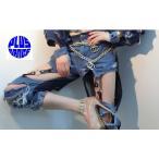 【上下バラ販売】 ダンス 衣装 ダメージ デニム セット販売 セットアップ 予約商品