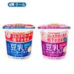 ソヤファーム 豆乳 ヨーグルトプレーン/ブルーベリー各 110g×24コ 48個入 クール便