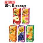エルビー 選べる3ケースフルーツセレクション オレンジ/アップル/マンゴー/グレープ/フルーツセブン 200ml×24本入 3ケース紙パック