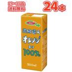 エルビー オレンジ果汁100% 200ml紙パック 24本入〔LB えるびー ミリパック みかん ミカン 蜜柑 オレンジジュース 果汁100%ジュース 濃縮還元〕