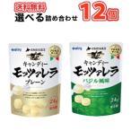 南日本酪農協同 デーリィ 選べる 北海道日高 キャンディーモッツァレラ バジル/モッツァレラ 24g×12袋/2種類から選べる1セット