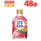 ダイドー とろけるピーチネクター ボトル缶【270g×24本】×2ケース ピーチネクター 桃 もも 果肉 ピューレ