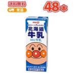 明治 それいけ アンパンマンの北海道 牛乳 200ml×24本/2ケース  最安値挑戦 紙パック