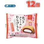 白バラクリームわらびもち  12個/和生菓子/お菓子/生クリーム/鳥取スイーツ/クール便