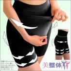 骨盤矯正 美整体 骨格スリムインナー ボトム コルセット式ガードル 着心地感が優しいインナー 編み分け 凹凸ウェーブ素材 ウェーブケア
