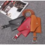 ベルト ベルトバッグ ウエストバッグ ウエストポーチ付き ヒップバッグ バッグ付き レディース フェイクレザー 女性用 婦人用 シンプル 小物入れ フ