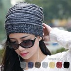 針織帽 - ニット帽レディースキャップニットキャップレディースメンズユニセックス帽子やわらかニットボーダー帽子