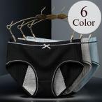 サニタリーショーツ 生理用パンツ レディース フルバック 下着 インナー 月経 リボン かわいい シンプル M L XL