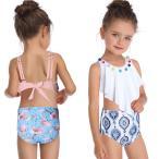 女の子用水着 上下2点セット タンキニ セパレート スイムウエア 子供用 キッズ セットアップ ツーピース プール スイミング 海水浴 ビーチ リゾー