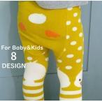 子供用 赤ちゃん用 タイツ ベビー アニマルデザイン カラータイツ スパッツ レギンス あったか 防寒 女の子 男の子 ベビー キッズ