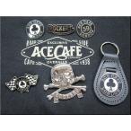 カスタムにオススメ!バッジ No,a60001 ACE CAFE GENUINE CLOTHING エースカフェ ロンドン UK バイカー ロッカー