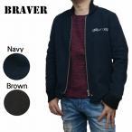 ジャケット ファラオジャケット メルトン 刺繍 br47511 BRAVER ブレイバー 西海岸 TOKAGEYA バイカー ネイビー 商品入れ替えの為、在庫処分!