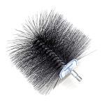 煙突掃除 用 ネジ付ワイヤーブラシ 直径 106mm No.501806001 【ホンマ製作所】