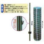 【法人限定特価】【グリーン】 アニマルフェンス 1.0×20m フェンス(金網)と支柱11本のセット シンセイ シN直送