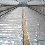 シルバーホッカ - 2.3×25m 水稲育苗用保温シート 不織布