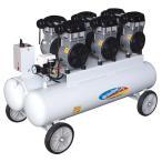 静音 4.5馬力 オイルレス エアコンプレッサー AG-4578F タンク容量78L パオック 【代引不可】