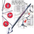 Mokuba モクバ デルタハンドル D-24 10-13mm 鉄筋 曲げ [狭い場所での曲げ作業に] 三富D