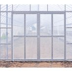 片開き 丸パイプ用 ビニールハウス用 替えドア ティペットドアEXセット TDEX-12x16 1200x1650mm 高強度のドア 北別 東都興業 タ種 代引不可