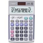 【在庫目安:お取り寄せ】CASIO  JS-20WK 実務電卓 12桁 検算機能付き ジャストタイプ