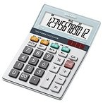 【在庫目安:僅少】SHARP  EL-M712K-X 電卓12桁(ミニナイスサイズタイプ)
