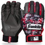 Franklin フランクリン バッティンググローブ DIGITEK 赤 黒 グレー サイズS  並行輸入品