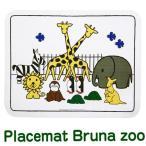 Rosti mepal × Dick Bruna Placemat bruna zoo プレイスマット ブルーナ ズー 《 ランチョンマット 》