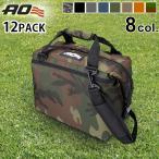 クーラーボックス 保冷バッグ AO Coolers キャンバス ソフトクーラー 12パック