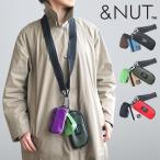 ネックポーチ アンドナット スリーポーチショルダー &NUT Three Pouches Shoulder