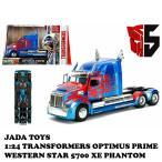 JADA TOYS ジェイダトイズ TRANSFORMERS OPTIMUS PRIME トランスフォーマー オプティマス プライム ダイキャスト ミニカー ウエスタンスター5700