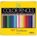 色鉛筆送料無料 一部地域除く トンボ鉛筆色鉛筆24色セットCBNQ24C 缶入