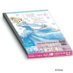送料無料ナカバヤシB5ノートロジカルエアーノート5色ディズニープリンセスパステルシリーズA罫5冊パックノS125A5P