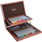 色鉛筆送料無料一部地域除くステッドラー 水彩色鉛筆 カラトアクェレル クリエイティブボックス125W60-1専用木箱入り60色セット