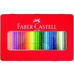 色鉛筆送料無料 一部地域除くファーバーカステル 水彩色鉛筆 平缶 36色セット TFC-WCP/36C