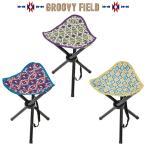 折りたたみ椅子 コンパクト グルービーフィールド トライアングルスツール