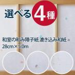 和室の和み障子紙 漉き込み和紙