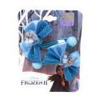 アナと雪の女王2 ゴージャスリボンヘアゴム2個セット Disney 6941033444130 キャラクター グッズ メール便OK