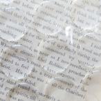 ハンドメイド材料 手作りカボション 透明 エポキシ シール 10枚