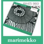 マリメッコ marimekko ミニタオル Siirtolapuutarha Mini Towel  68471-960 グリーン系  ゆうパケットメール便2枚まで