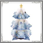 豪華クリスマスカード 飾れるツリーカード 封筒サイズ17x23.5 お届け方法ゆうパケットメール便2枚まで ネコポス6枚まで