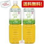 送料無料 1500mlサイズ 伊藤園 2つの働き カテキン緑茶 1.5Lペットボトル 16本 (8本×2ケース) (特定保健用食品)