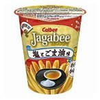 カルビー 38gJagabee(じゃがビー) 塩とごま油味 12カップ入 (ジャガビー)