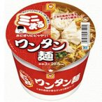 東洋水産 マルちゃん ミニまる 45gワンタン麺(ミニ) 12食入 (インスタント食品)