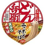 日清 100g日清のどん兵衛 天ぷらそば (西) 12食入 (インスタント食品)
