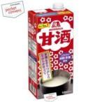 森永製菓 甘酒 1000ml(1L) 6本入 (あまざけ あま酒)
