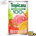 キリン トロピカーナ100%ジュース フルーツブレンド 160g缶(ミニ缶) 30本入 (果汁飲料)