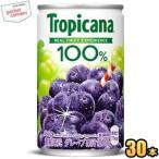 キリン トロピカーナ100%ジュース グレープ 160g缶(ミニ缶) 30本入 (果汁飲料)