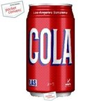 富永貿易 神戸居留地 Lasコーラ 350ml缶 24本入 (cola)